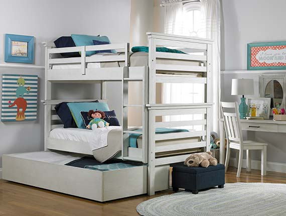Lucca Bunk Bed Collection w/ Storage